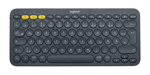 Logitech Logitech Multi-Device Bluetooth Keyboard K380, US bezdrátová