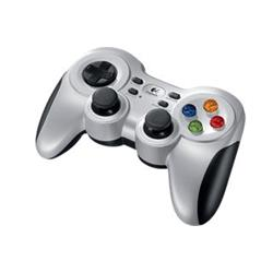 Logitech Wireless Gamepad F710, vibrace, 2,4 GHz