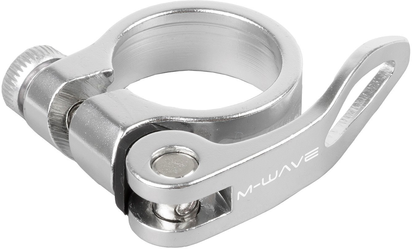 M-Wave CLAMPY QR 31,8mm - Silver