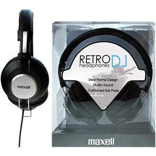 Maxell 303516 RETRO DJ BLACK