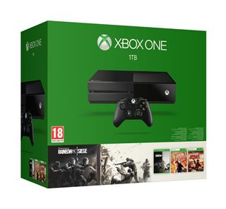 Microsoft Xbox One 1TB + Rainbow Six Siege + Rainbow Six Vegas 1+2