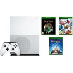 Microsoft XBOX ONE S 1TB + Sea of Thieves + Disneyland Adventures + Rush