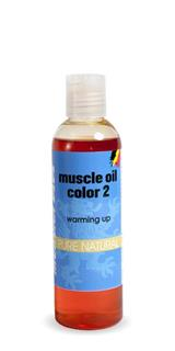 Morgan Blue - Muscle Oil color 2 200ml - zahřívací