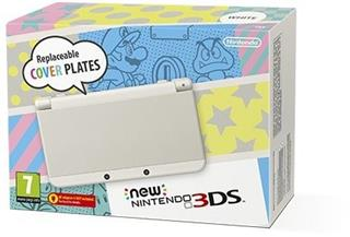 New Nintendo 3DS White + New Super Mario Bros.2