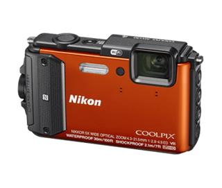 Nikon COOLPIX AW130 Orange (VNA842E1)