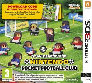 Nintendo 3DS - Nintendo Pocket Football Club