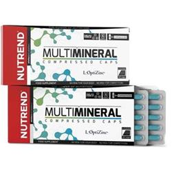 Nutrend MULTIMINERAL COMPRESSED CAPS, 60 kapslí