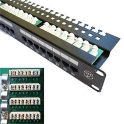 "PATCH PANEL 19"" 24x Cat5e UTP"
