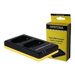 Patona Dual Quick nabíječka akumulátoru pro CANON LP-E10 USB