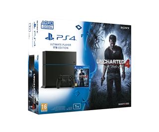 PlayStation 4 1TB + hra Uncharted 4: A Thief's End