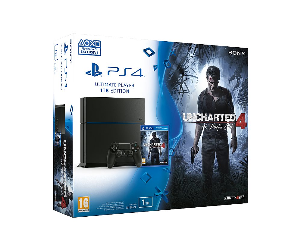 68783c450 PlayStation 4 1TB + hra Uncharted 4: A Thief's End (PS719802655 ...