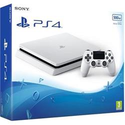 PlayStation 4 Slim 500GB, bílá