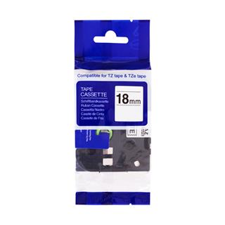 PRINTLINE kompatibilní páska s Brother TZE-S641, 8mm, černý tisk/žlutý podklad, ext. adh.