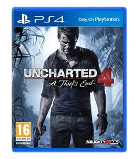 PS4 - Uncharted 4: A Thief's End - Standard Plus