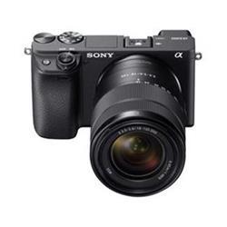 Sony Alpha A6400, černý + 18-135mm objektiv