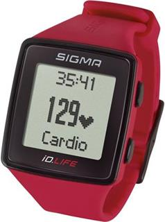 sporttester Sigma iD.LIFE rouge