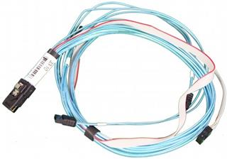 SUPERMICRO IPASS to 4 SATA Cable, 30AWG 76/66/54/45CM, W/ 66CM