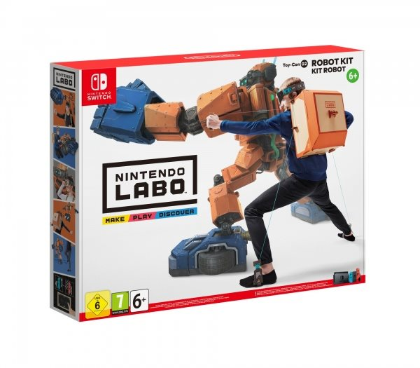 Switch - Labo Robot Kit
