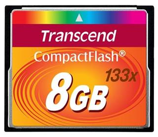 Transcend CompactFlash 133 8GB
