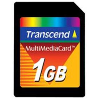 Transcend MultiMediaCard 1GB (TS1GMMC)
