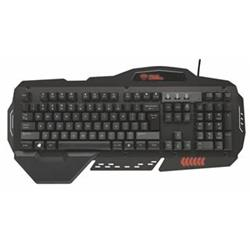Trust GXT 850 Metal Gaming Keyboard CZ/SK