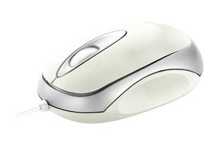 Trust Mini Travel Mouse - White