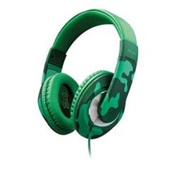 Trust Sonin Kids Headphone, jungle camo