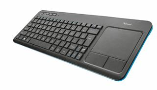 Trust Veza Wireless Touchpad Keyboard CZ/SK