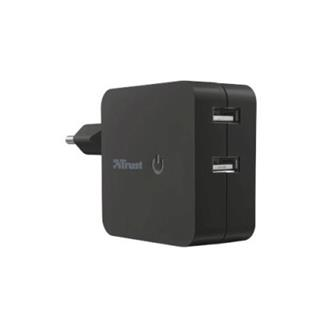 Trust Wall Charger with 2 USB ports - 2x12W