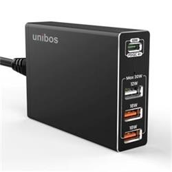 UNIBOS 4 Port 90W QC4+ Super Charger