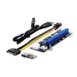 UNIBOS UNRI-106 Riser card PCIe x1 to PCIe x16 + 6-pin power cable