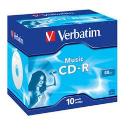 Verbatim CD-R Live it! 80MIN AUDIO 10-PACK