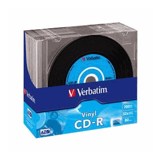 Verbatim CD-R Vinyl DLP 700MB 48x (10pack) slim