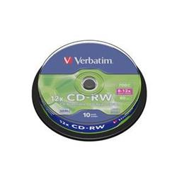 Verbatim CD-RW 12x (10pack) SPINDL