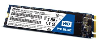 WD Blue SSD disk 250GB M.2