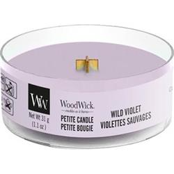 WoodWick Petite Candle Wild Violet 31g