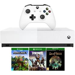 XBOX ONE S All-Digital, 1TB + Minecraft, Fortnite, Sea of Thieves